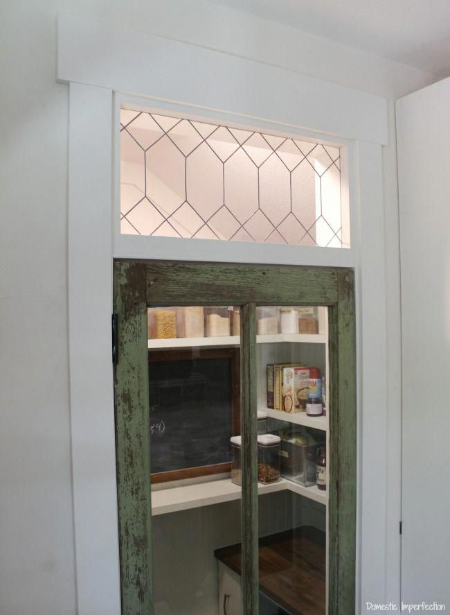 How to make your own leaded glass (so easy!) and all the ...