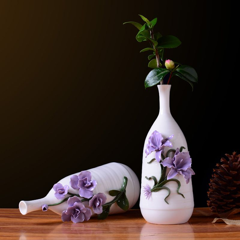 Modern Pretty Decorative Ceramic Vases Decorative Vases