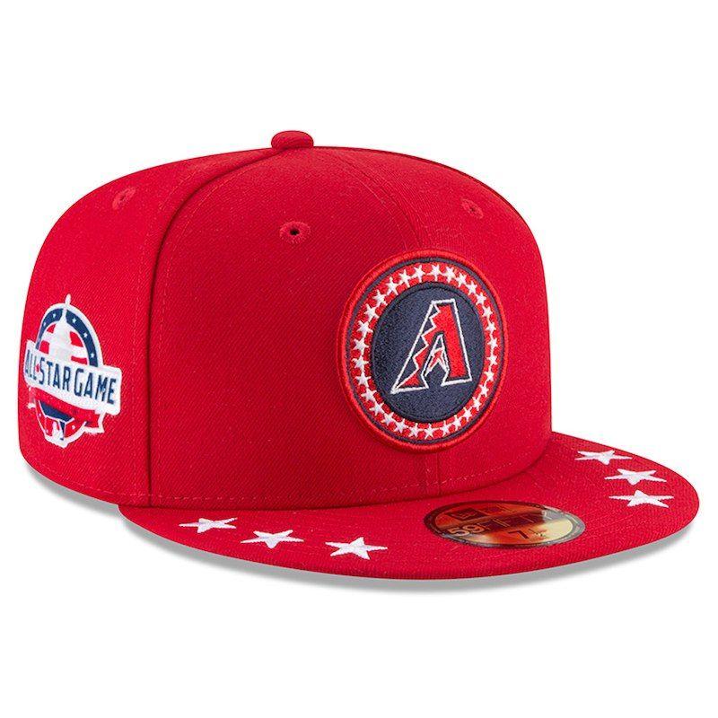 df636a5d4fb219 Arizona Diamondbacks New Era 2018 MLB All-Star Workout On-Field 59FIFTY  Fitted Hat – Red