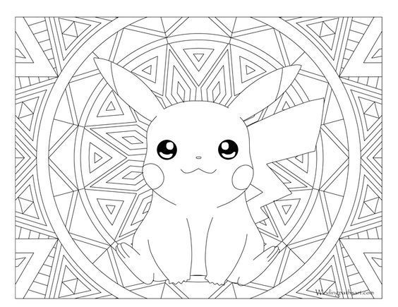 Pikachu Pokemon #025 | Coloring Pages | Pinterest | Ausmalbilder ...
