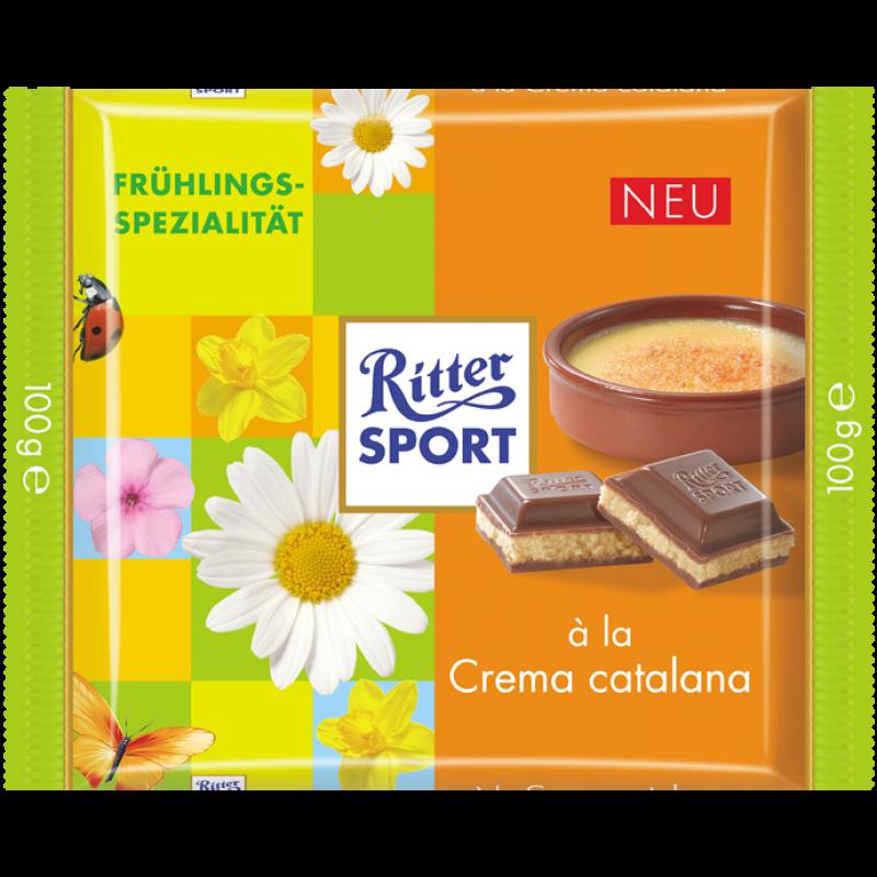 RITTER SPORT Frühlingssorte 2013 à la Crema catalana