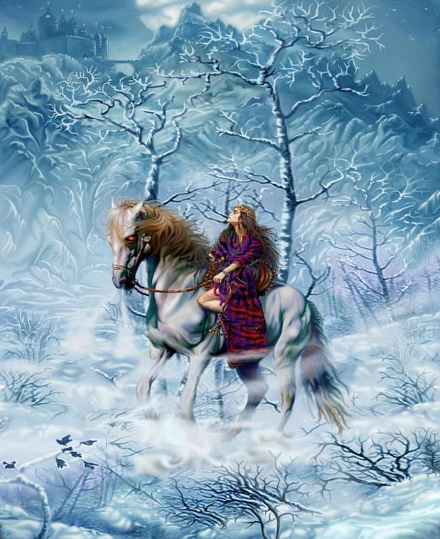Winters Daughter - by Steve A Roberts | Featured Artist on the Fantasy Gallery