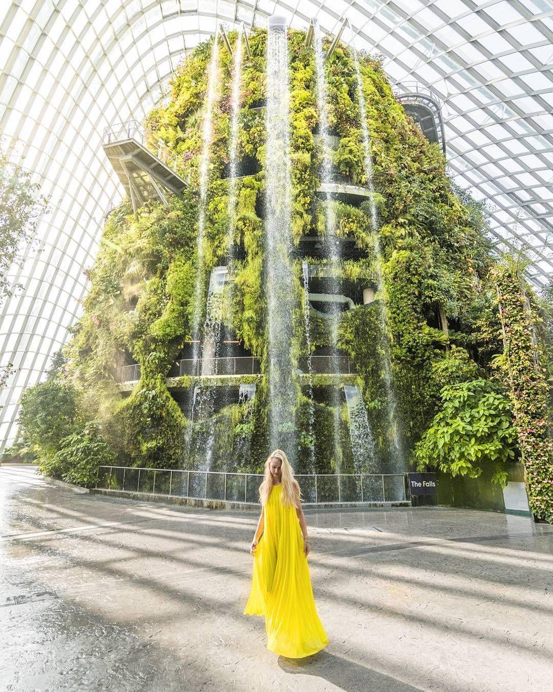 1 474 Otmetok Nravitsya 13 Kommentariev Gardens By The Bay Gardensbythebay V Instagram Sunshine Waterfalls Singapore Travel Visit Singapore Travel