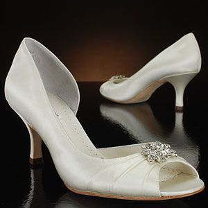 My Wedding Shoes Only Without The Bling And They Were Dyed Orange