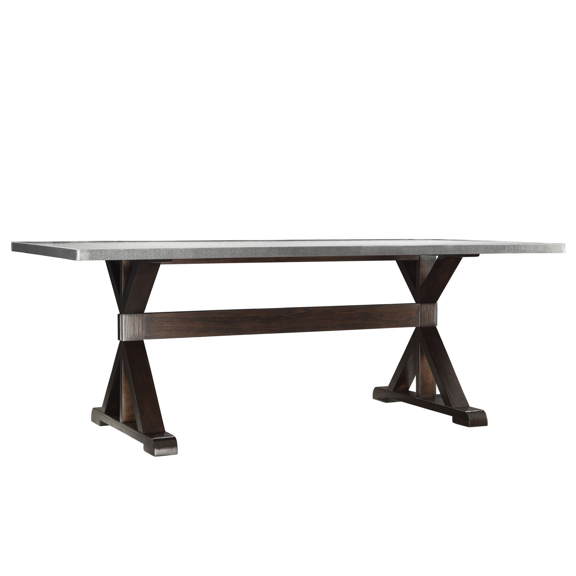 Purgatoire Valley Dining Table Trestle Dining Tables Stainless
