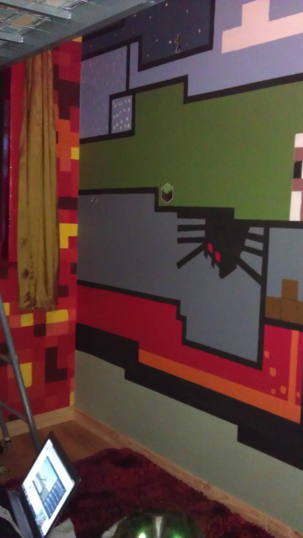 Pin by Wendy Saylor on Boy's bedroom ideas | Minecraft ...