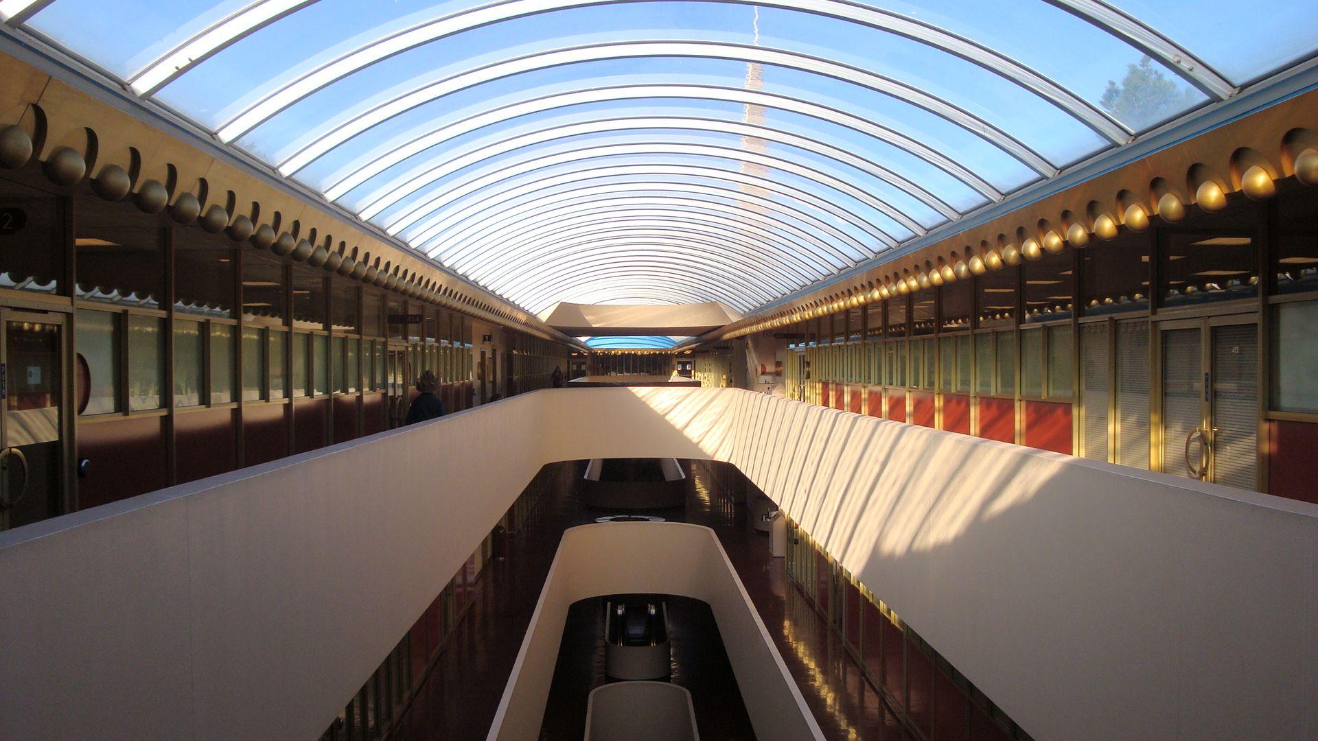 Modern Architecture Encyclopedia marin civic center interior - gattaca - wikipedia, the free