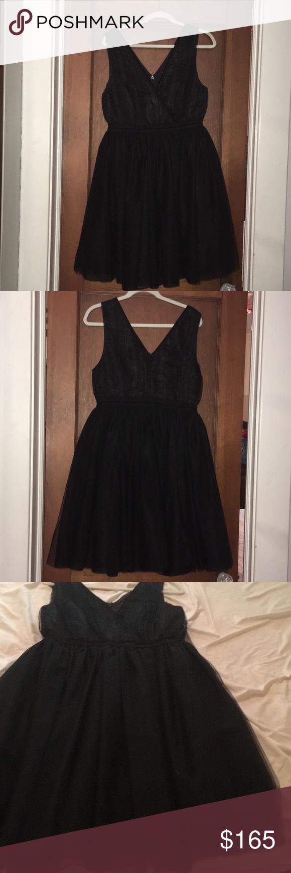 Cute black tulle dress by scotch u soda nwt