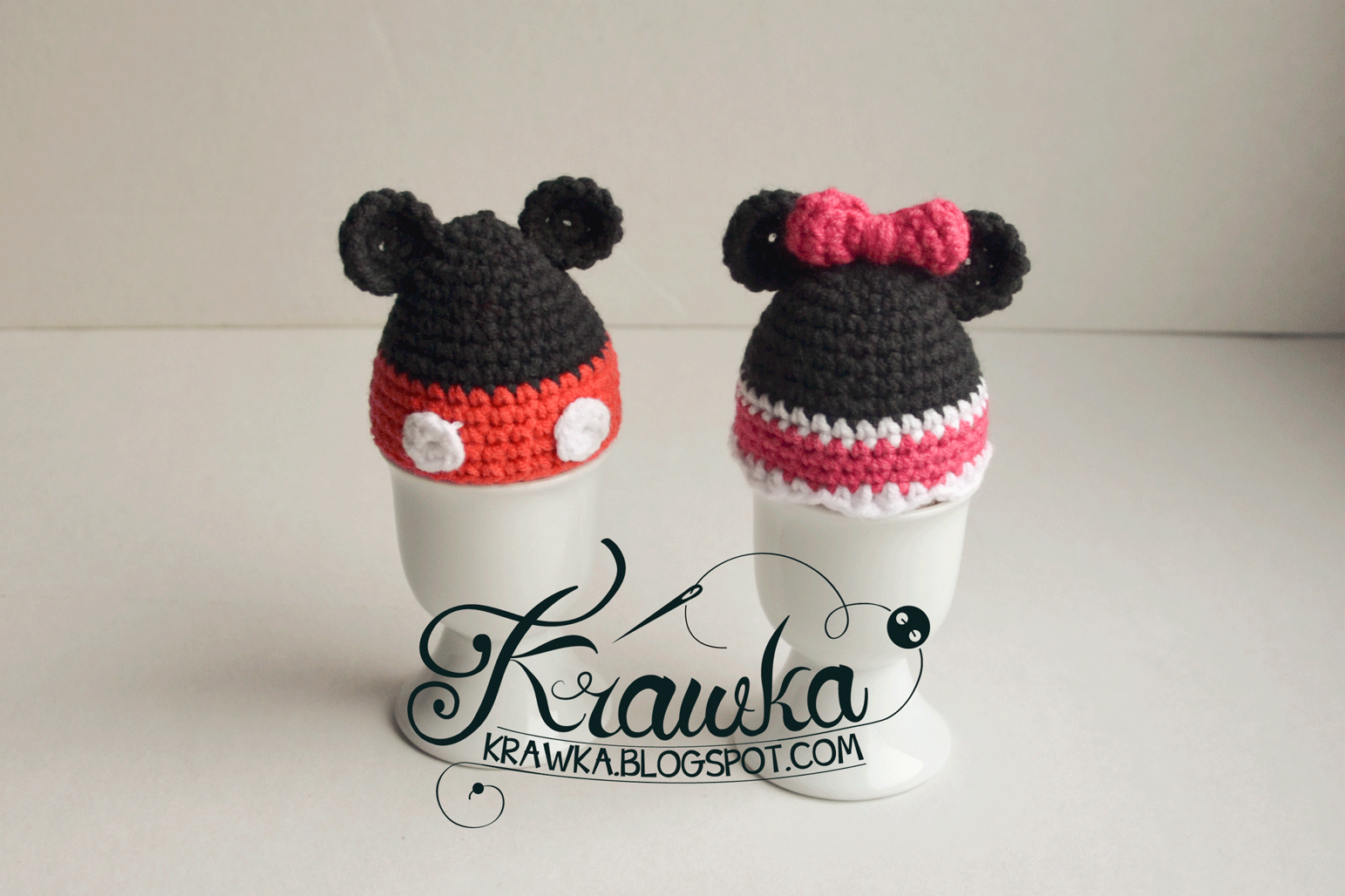 Krawka table decoration inspired by mickey and minnie mouse free pattern bankloansurffo Gallery