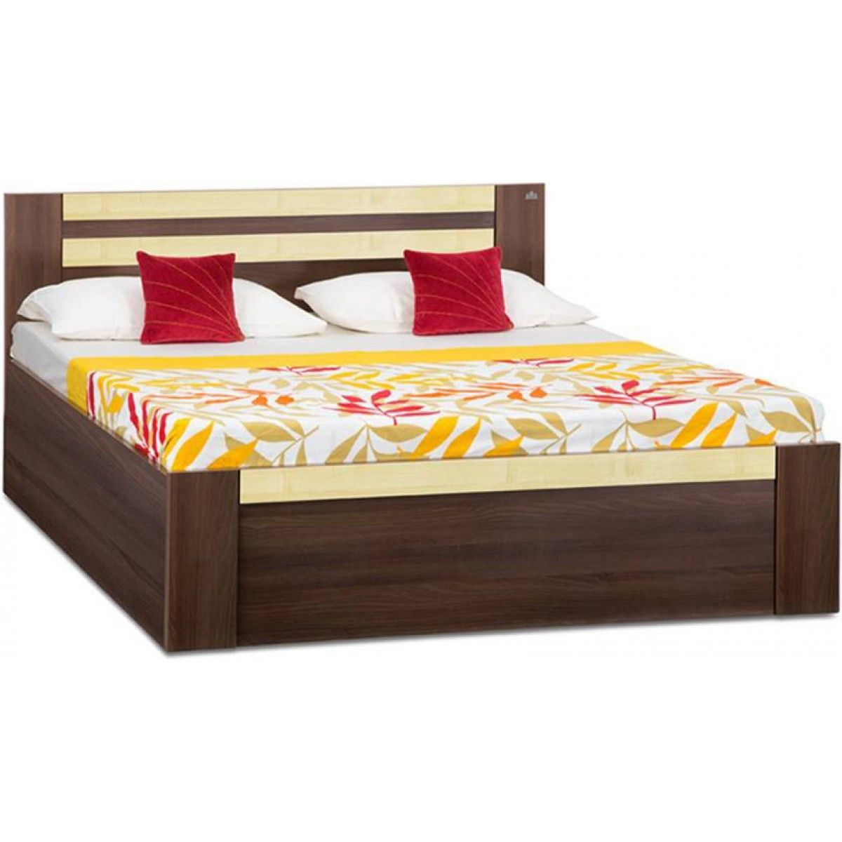 When Style Meet The Wide Storage Yes It S A Recent Indian King Size Bed Comes With Wide Storage Har Wooden Bed Design Double Bed Designs Bed Design Modern