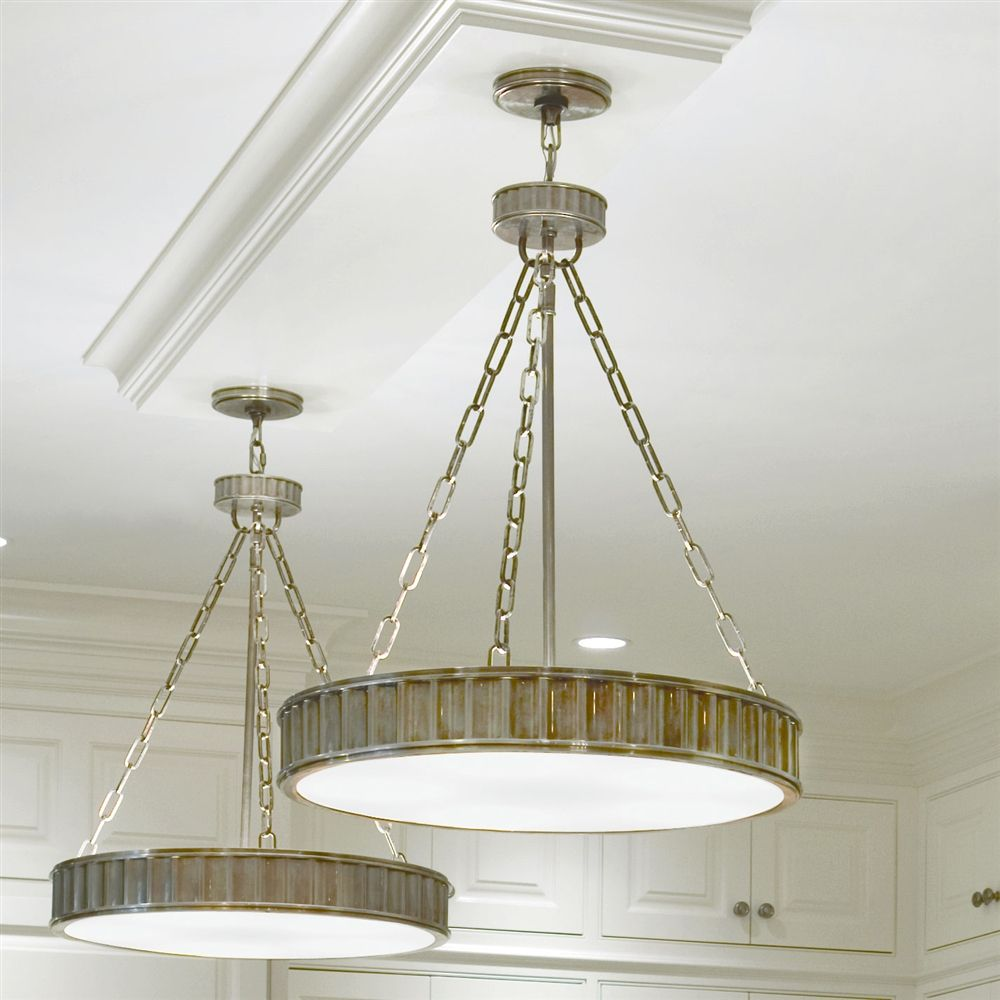 Middlebury pendant in historic nickel by hudson valley lighting 902 hn