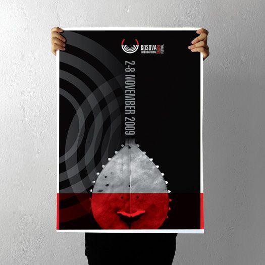 021 Kosova Interantional Theatre Festival Poster By Projectgraphics