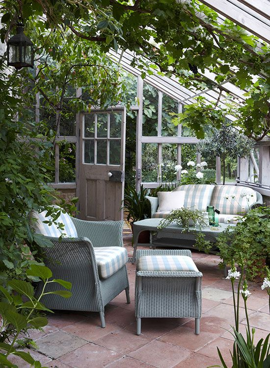 I Have Always Wanted A Room Like This. Garden Room   May Have To Rethink My  Greenhouse. Love It!