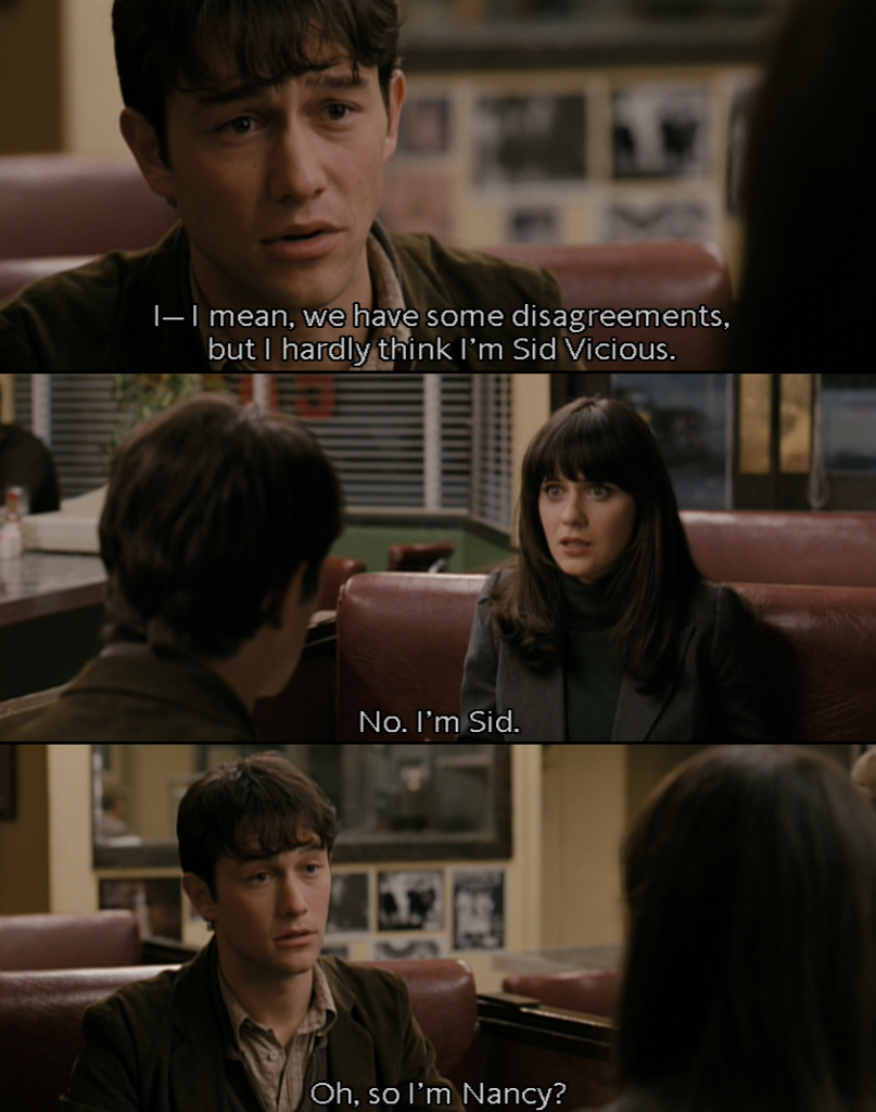 500 Days Of Summer A Few Of My Favorite Things Pinterest 500