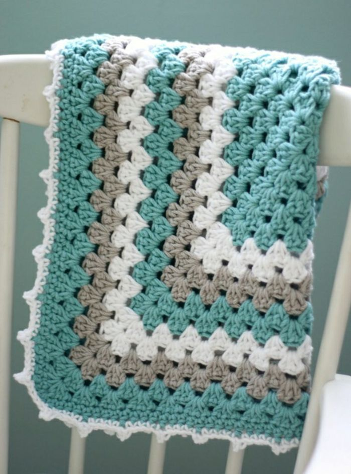 43 stilvolle Modelle Decken zum Häkeln | Häkeln | Pinterest | Decken ...