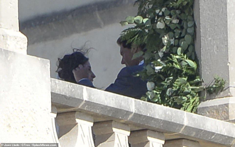 Rafa Nadal's wife Mery Perelló's wedding dress is seen for