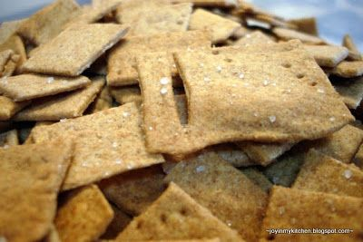 Finding Joy in My Kitchen: {31 Days} Cooking from Scratch: Homemade Crackers