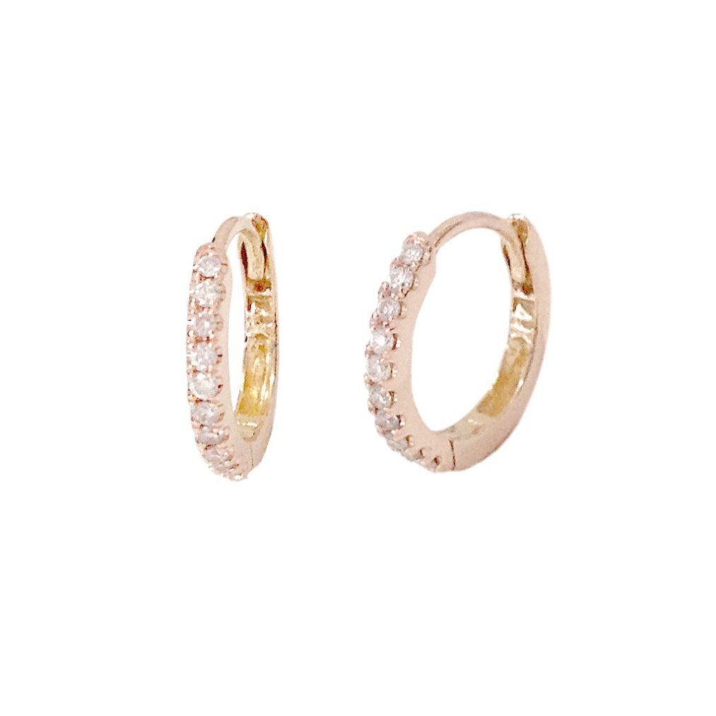 Gold Hoop Earrings Non Pierced Silver In Argos