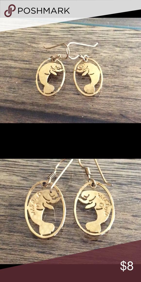 Wild Bryde Earrings : bryde, earrings, Wild., Bryde, Plated, Manatee, Earrings, Earrings,, Plate,, Plating