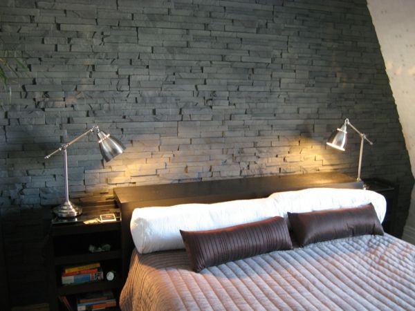 Le papier peint imitation brique donne de la personalité à votre - papier peint pour chambre a coucher