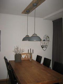 Verlichting boven eettafel google zoeken wonen for Wandlamp boven eettafel