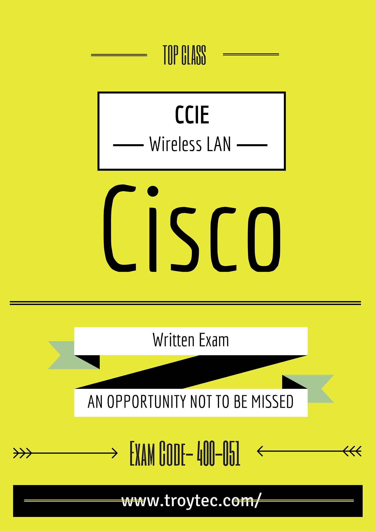 Ccie Collaboration Written Exam Exam Code 400051 Cisco