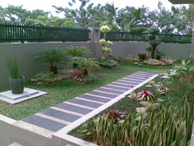 Jardines modernos de casas jardines pinterest jard n - Jardines modernos minimalistas ...