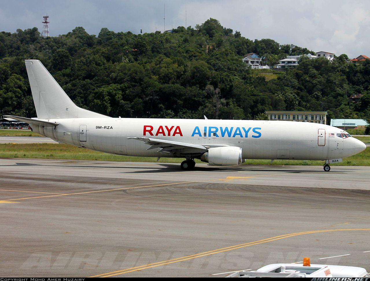 Boeing 7374... Raya Airways Aviation Photo 5271751