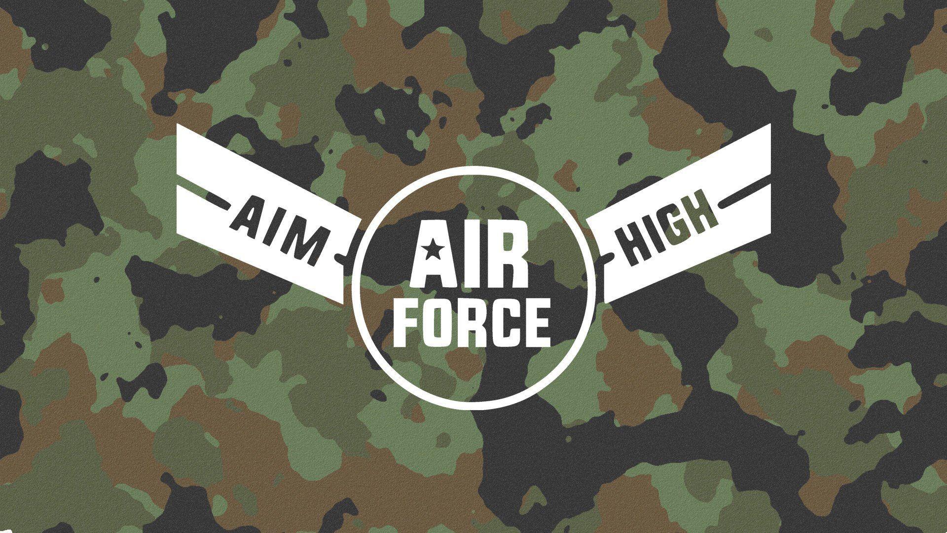 Air Force Aim High Decal Military Decal Air Force