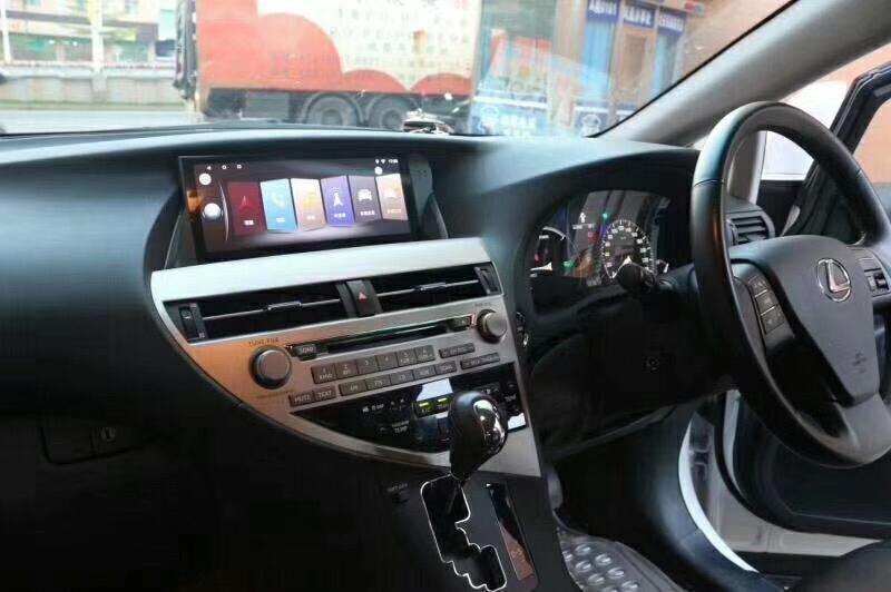 Rhd Android Car Radio Gps For Lexus Rx Dvd Player Gps In 2020 Lexus Gps Car Radio