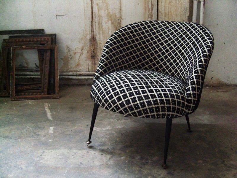 chauffeuse vintage du chic et du retro si ges seats. Black Bedroom Furniture Sets. Home Design Ideas