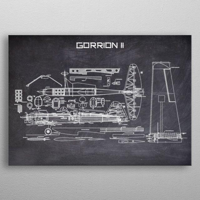 GORRION II by FARKI15 DESIGN | metal posters - Displate | Displate thumbnail