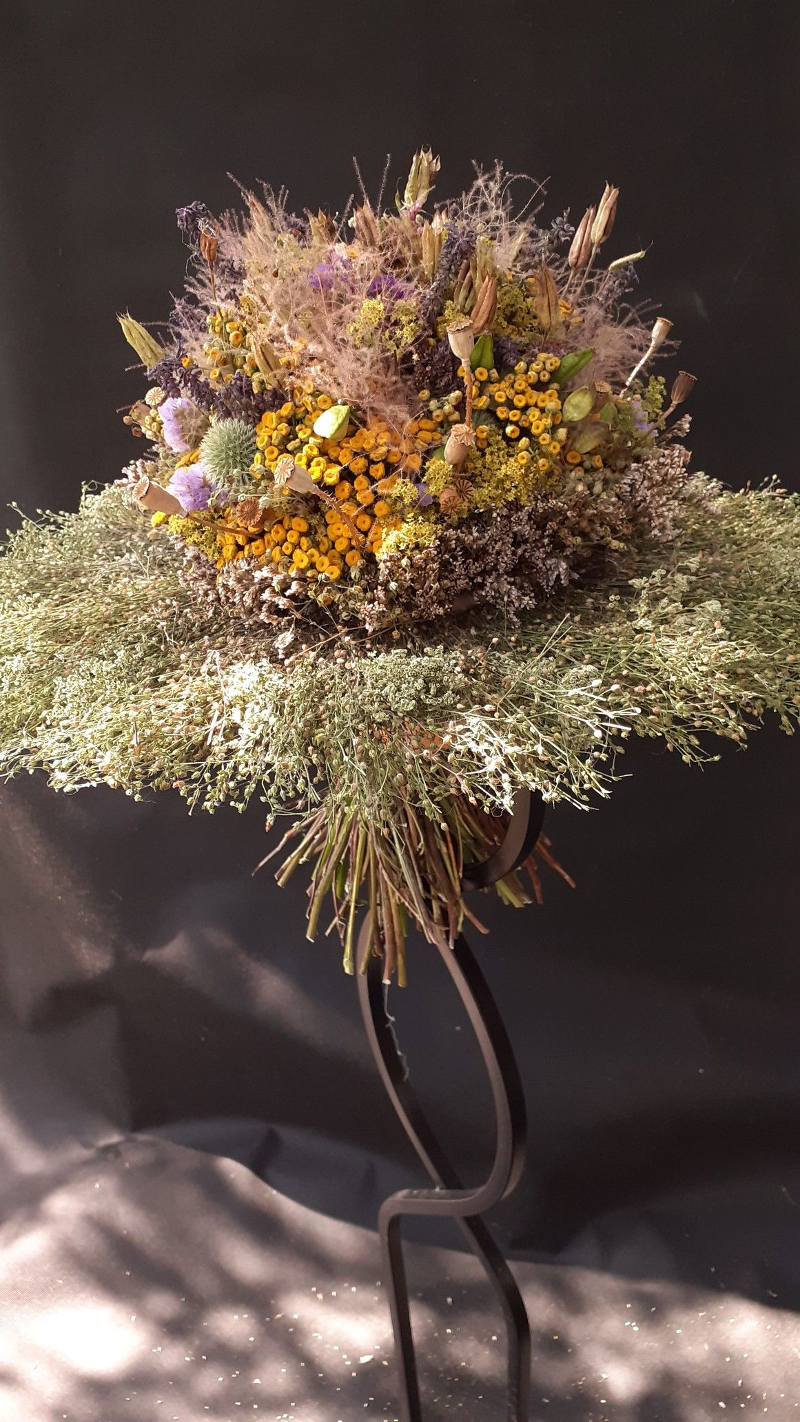 Bukiet Suche Kwiaty Plants