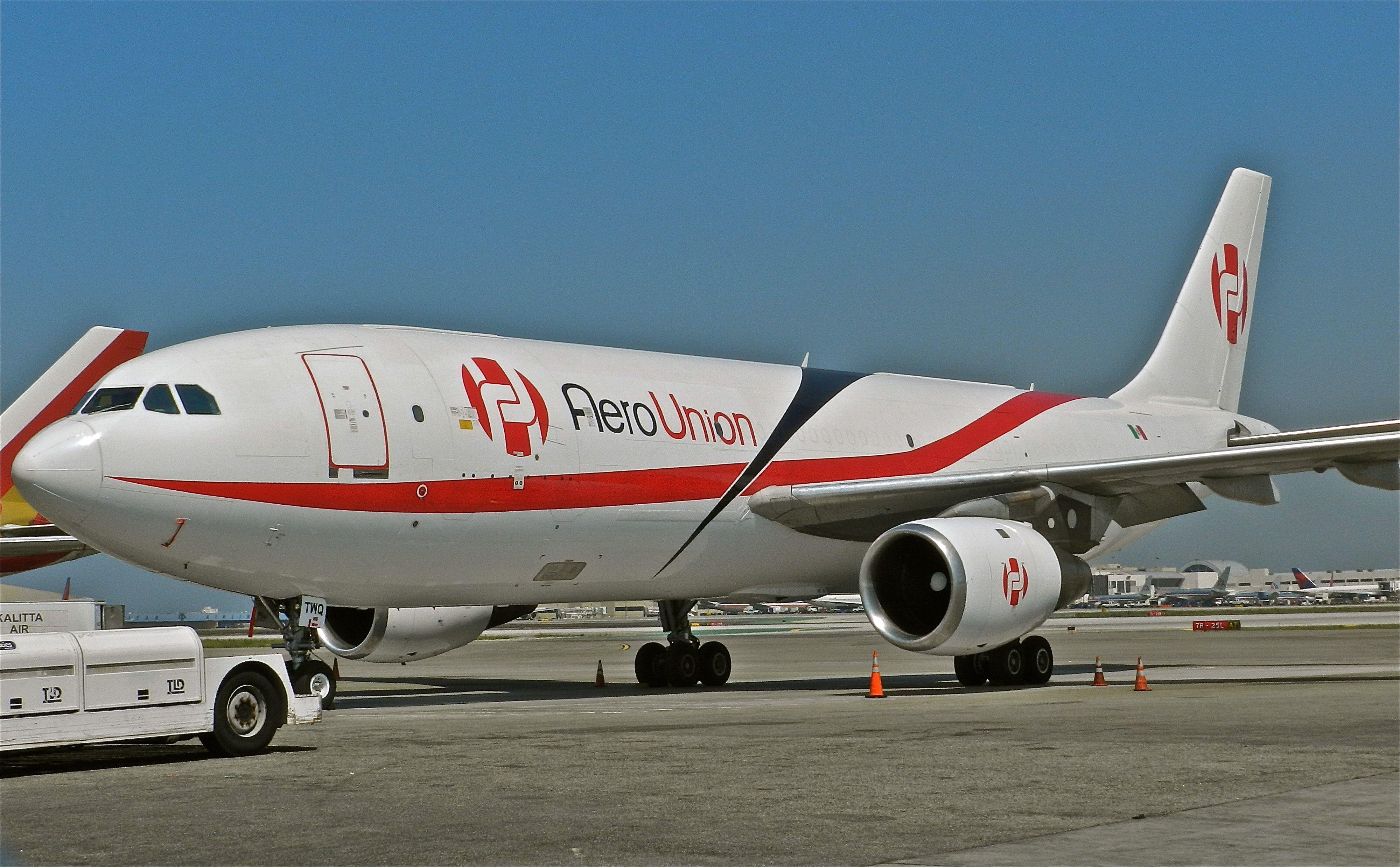 Aero Union A 300 cargo LAX Vintage planes, Cargo