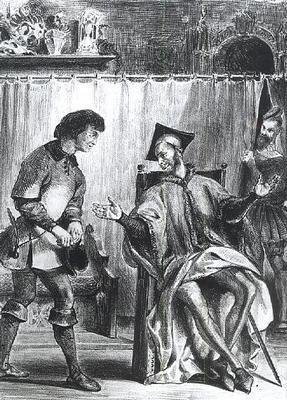 Illustratie Faust editie 1828