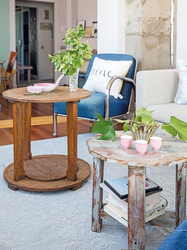 Cómo decorar con muebles reciclados | Muebles reciclados, Butacas y ...