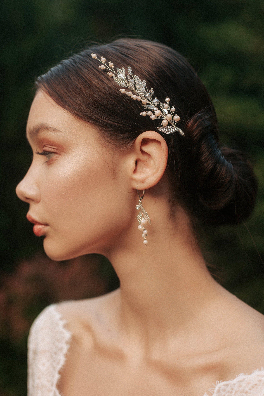 Bridal Crystal Hairpiece ,Wedding Hair Piece,