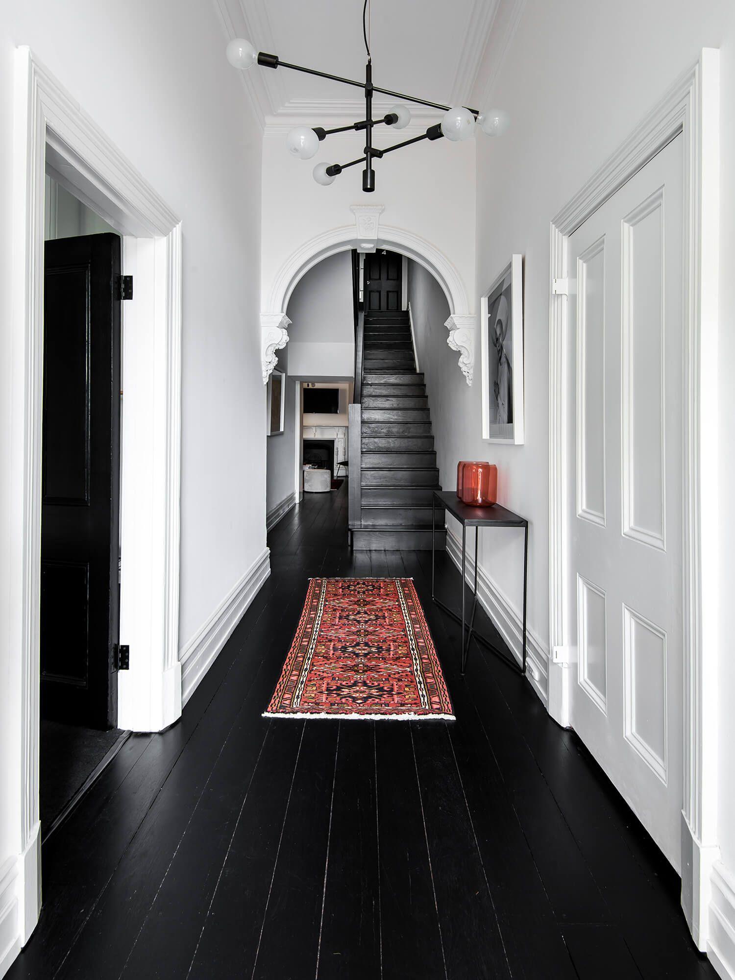 How To Hide Bad Rental Floors Five Ways Black Wood Floors