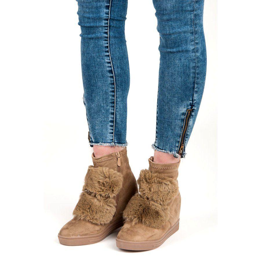 Sandaly Damskie Na Koturnie Laura Messi Skorzane Bordowe 1964 Czerwone Cinderella Shoes Fashion Heels