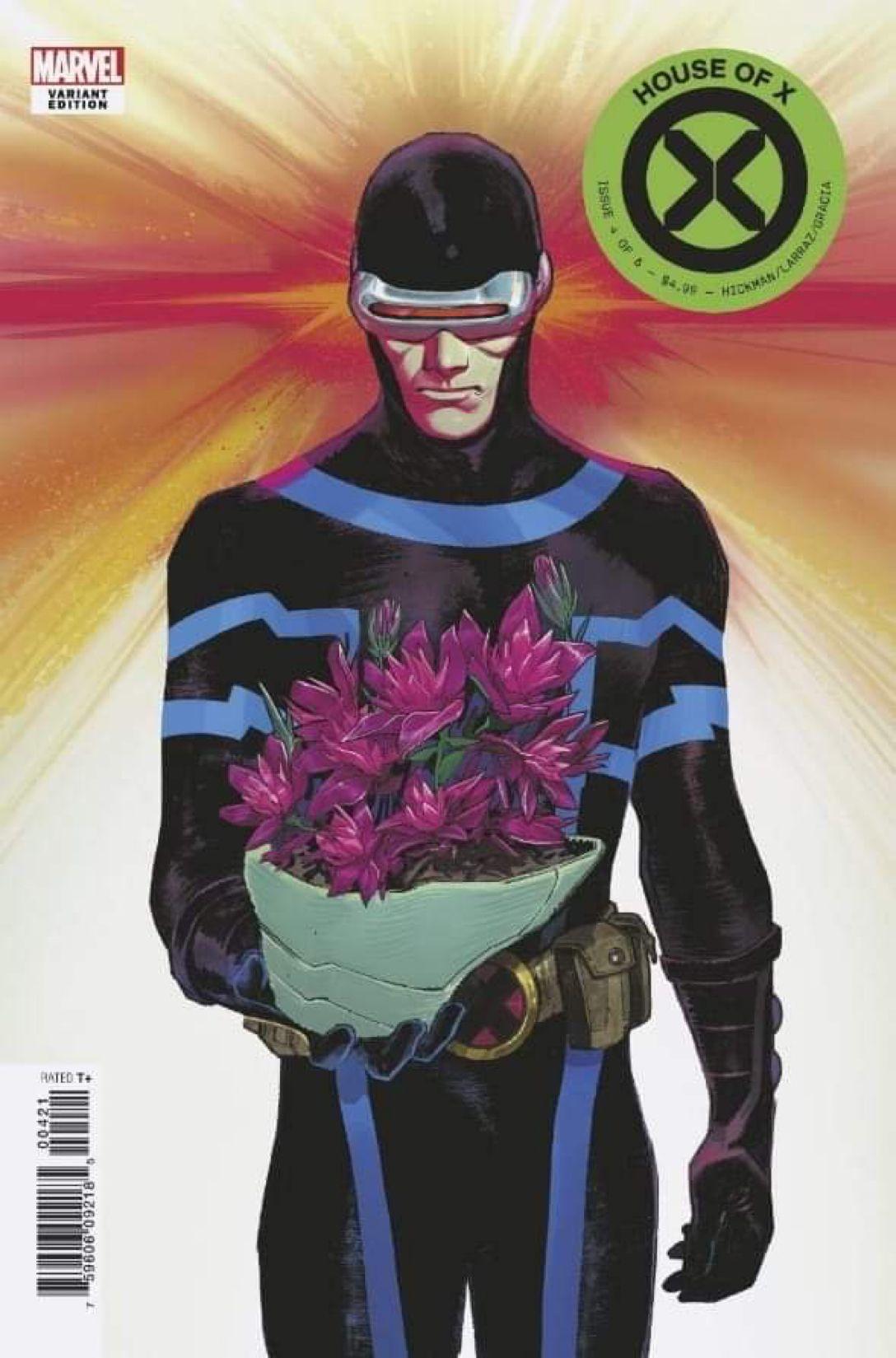 House Of X 4 Cyclops Variant Marvel Comics Art Marvel Comics Marvel