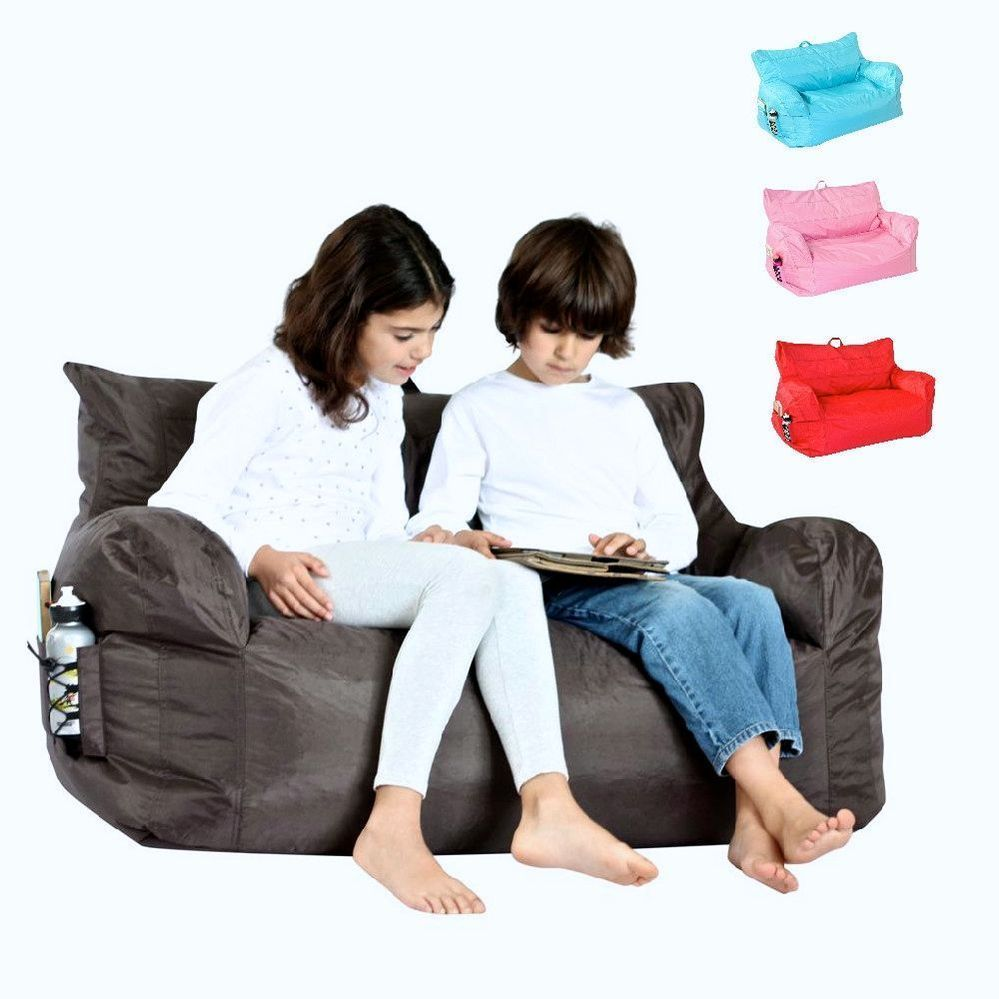 Exceptionnel Kids 2 Seater Brady Outdoor Bean Bag Sofa Chair