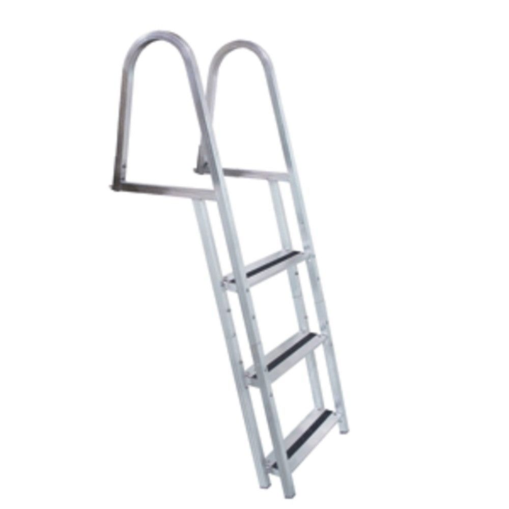 Release Docker With Rultor: Dock Edge STAND-OFF Aluminum 3-Step Ladder W/Quick Release