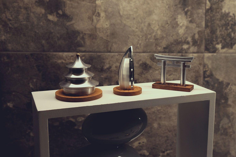 Galeria de Designer russo cria souvenirs de alumínio de ícones da arquitetura de todo o mundo - 4