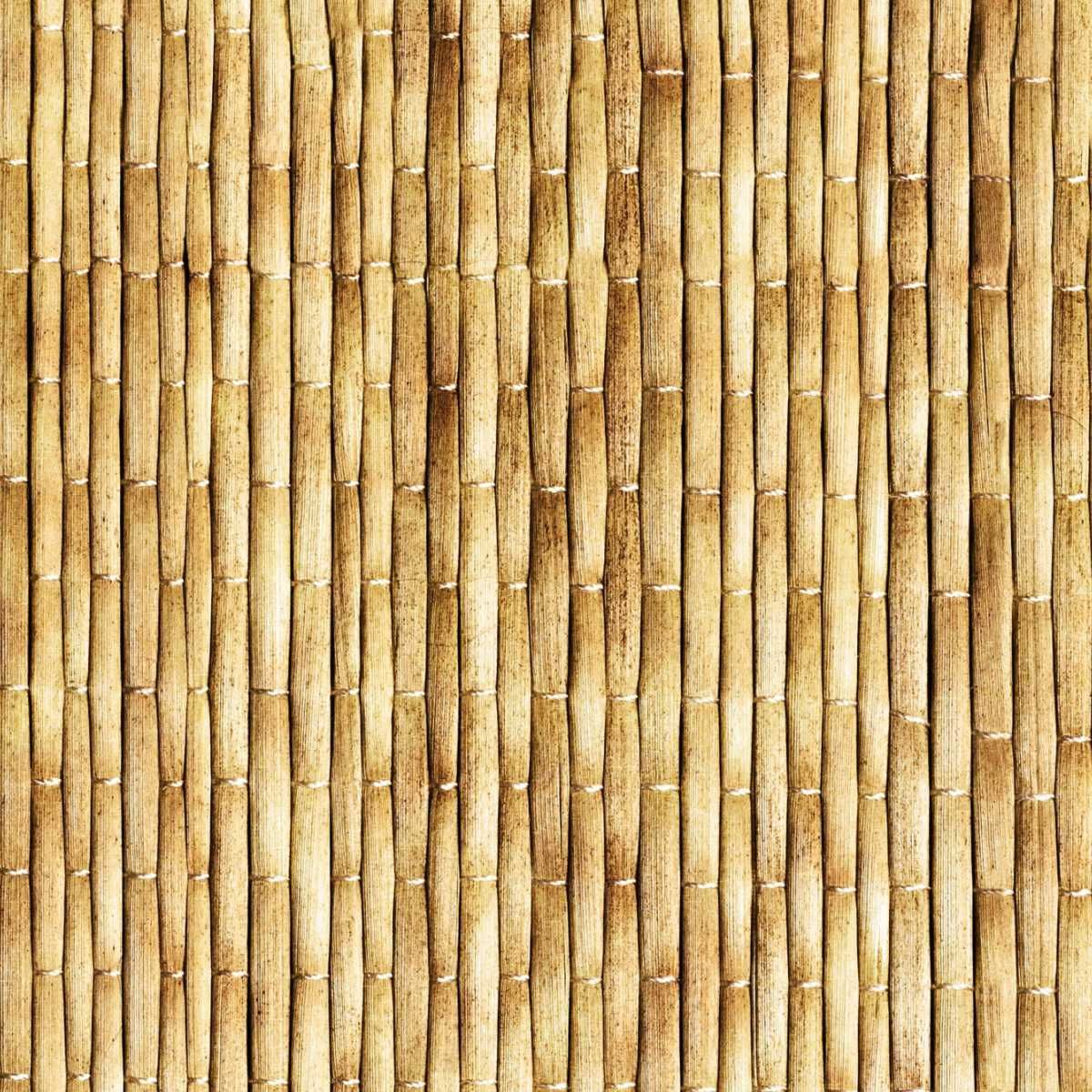 LIGHT BEIGE BAMBOO Light beige colored bamboo woven into a mat ...