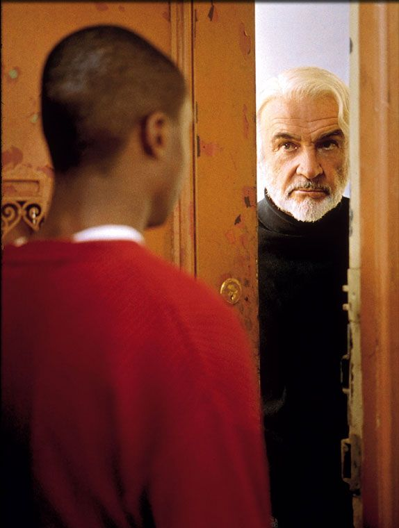 Finding Forrester No Thinking That Comes Later You Must Write Your First Draft With Your Heart You Rewrite With Y In 2020 Finding Forrester Sean Connery I Movie