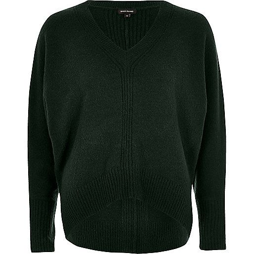 Zwarte Trui vleermuismouwen Dames Pullovers | KLEDING.nl
