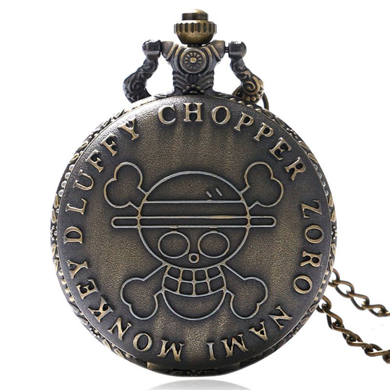 Watches Mens Steampunk Skull Flowers Quartz Pocket Watch Antique Fob Clock Women Pendant With Necklace Chain Gift 2017