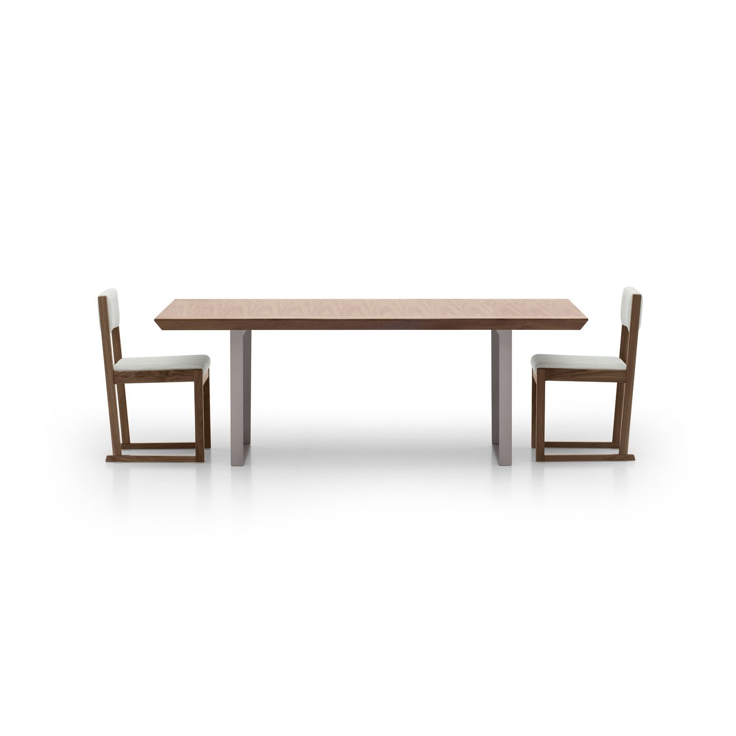 Gertrude Solid Wood Dining Table Dining Table In Kitchen