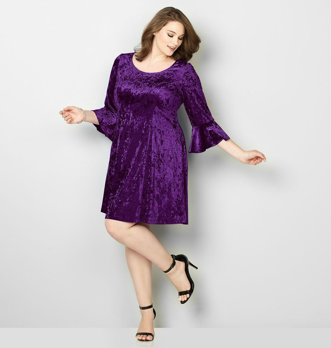 Shop beautiful holiday dresses with soft, trendy velvet fabric like ...