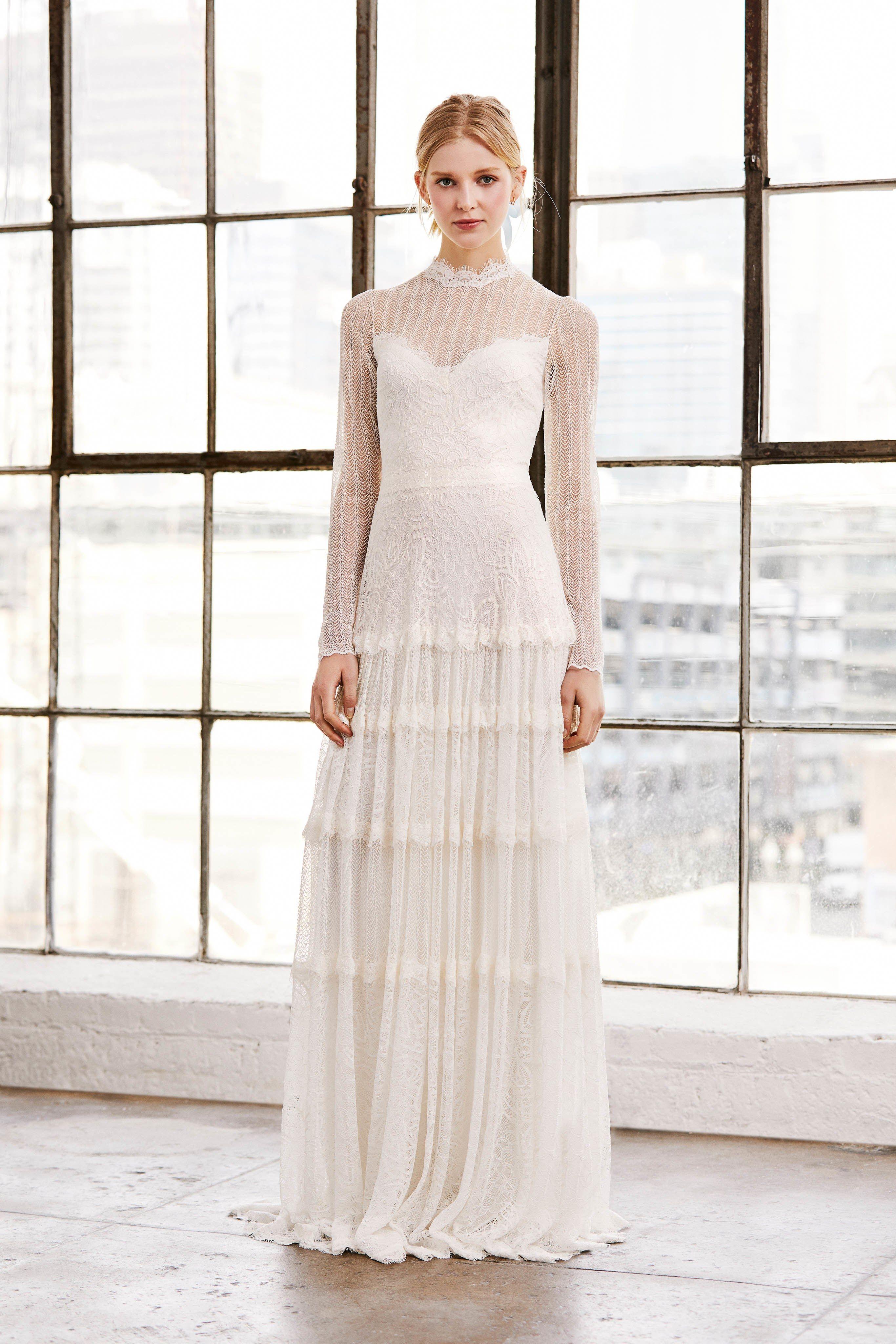 Tadashi Shoji Bridal Spring 2019 Fashion Show